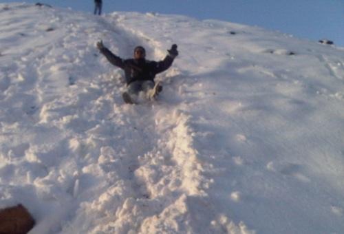 تزحلق على الثلج